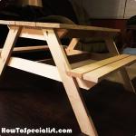 DIY-Kids-Picnic-Table-Plans