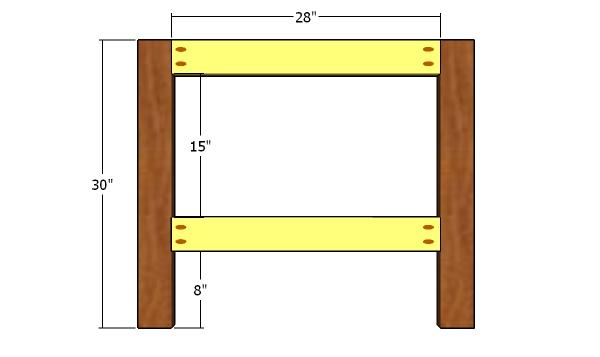 Headboard frame - toddler bed