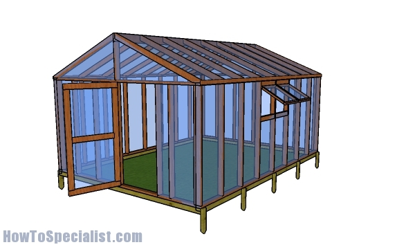 How to build a 12x16 greenhouse
