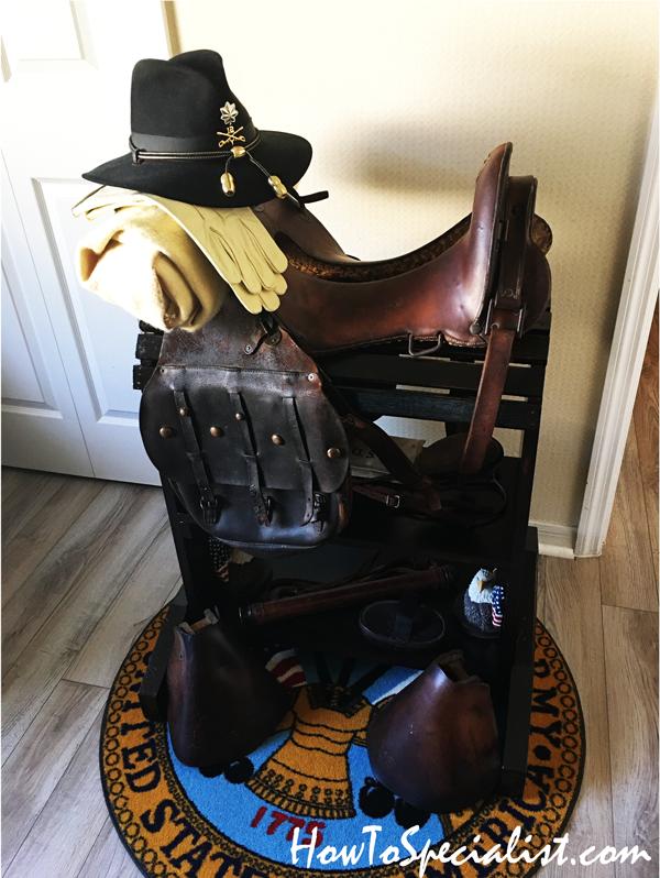 DIY Saddle Stand