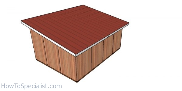 12x16 Lean To Roof For Goat Shelter Plans