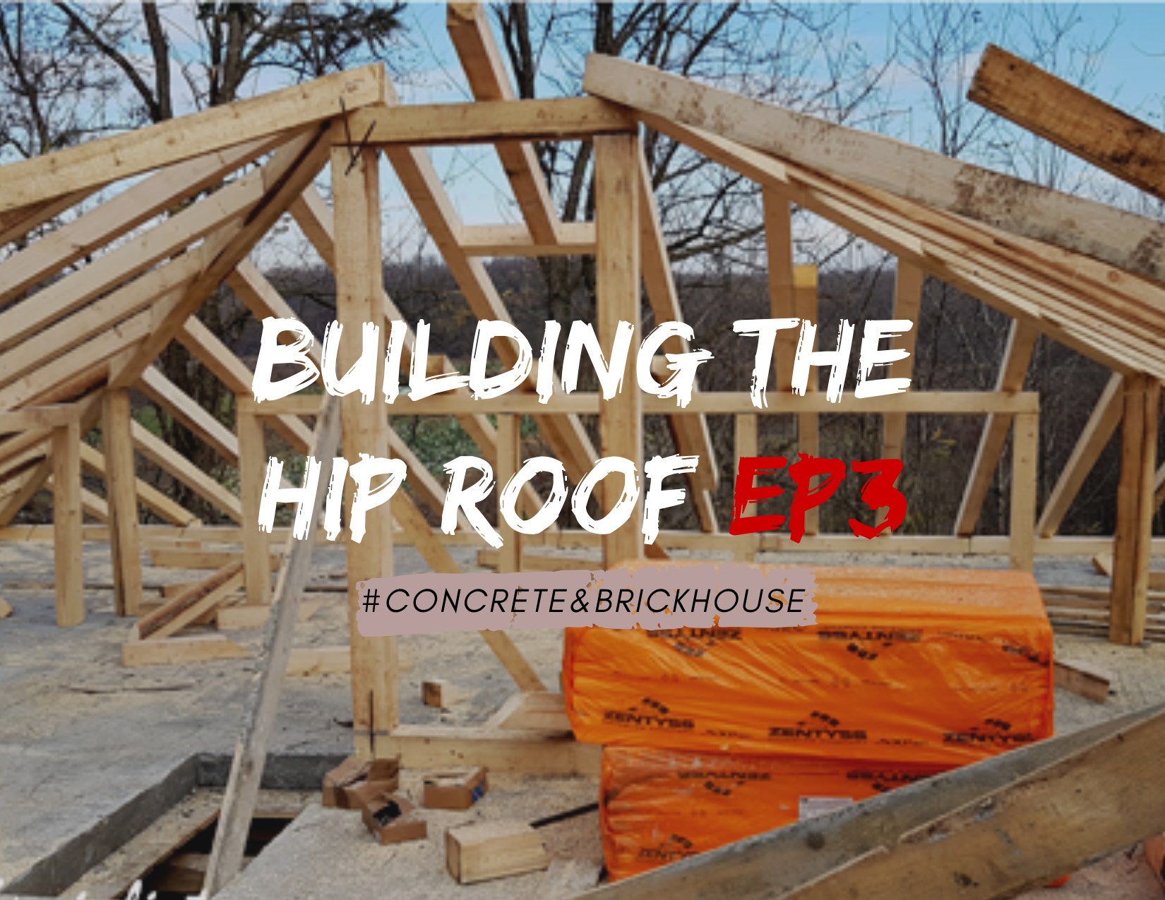 Concrete And Brick House How To Build A Hip Roof Howtospecialist How To Build Step By Step Diy Plans
