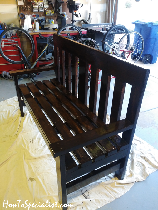 Simple 2x4 and 2x6 bench | HowToSpecialist - How to Build ...